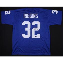 John Riggins Signed Kansas Jayhawks Jersey (Radtke COA)