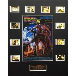 """""""Back to the Future Part III"""" Limited Edition Original Film/Movie Cell Display"""