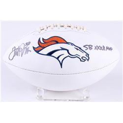 "Terrell Davis Signed Broncos Football Inscribed ""SB XXXII MVP"" (Radtke COA)"