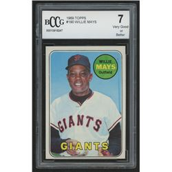 1969 Topps #190 Willie Mays (BCCG 7)