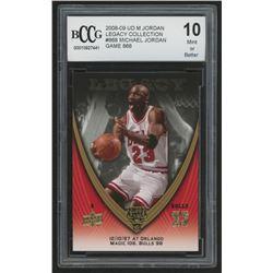 2008-09 Upper Deck Michael Jordan Legacy Collection #868 Michael Jordan Game 868  (BCCG 10)