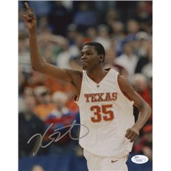 Kevin Durant Signed Texas Longhorns 8x10 Photo (JSA COA)