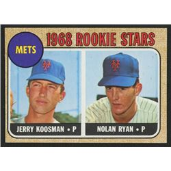 1968 Topps #177 Rookie Stars / Jerry Koosman RC / Nolan Ryan RC