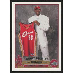 2003-04 Topps #221 LeBron James RC
