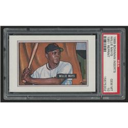 1989 Bowman Reprint Inserts #7 Willie Mays 51 (PSA 10)