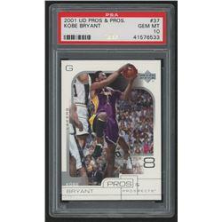 2001-02 Upper Deck Pros and Prospects #37 Kobe Bryant (PSA 10)