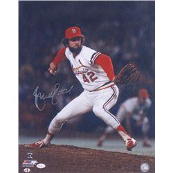Bruce Sutter Signed Cardinals 16x20 Photo (JSA COA)