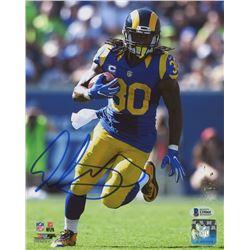 Todd Gurley Signed Rams 8x10 Photo (Beckett COA)
