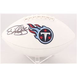 Derrick Henry Signed Titans Logo Football (Radtke COA  Henry Hologram)