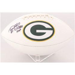 "Desmond Howard Signed Packers Logo Football Inscribed ""S.B. XXXI MVP"" (Radtke COA)"