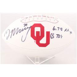 DeMarco Murray Signed Oklahoma Sooners Logo Football (Murray  Radtke Hologram)