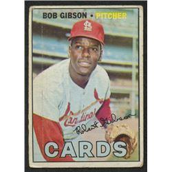 1967 Topps #210 Bob Gibson