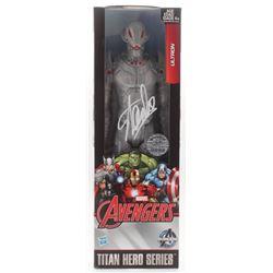 "Stan Lee Signed ""Ultron"" Avengers Marvel Titan Hero Series Figure (Radtke COA  Lee Hologram)"