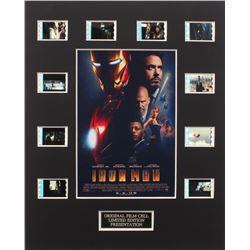 """Iron Man"" Limited Edition Original Film/Movie Cell Display"