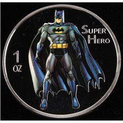 2014 1 Ounce Silver Batman Coin