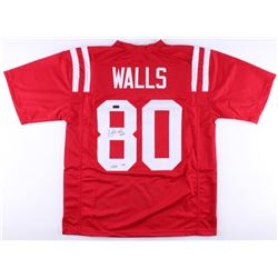"Wesley Walls Signed Ole Miss Rebels Jersey Inscribed ""CHOF '14"" (Radtke COA)"