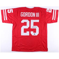 Melvin Gordon Signed Wisconsin Badgers Jersey (Radtke COA)