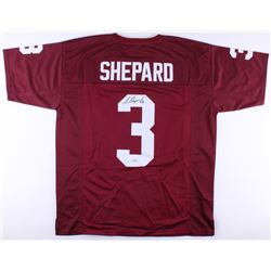 Sterling Shepard Signed Oklahoma Sooners Jersey (Fanatics Hologram)