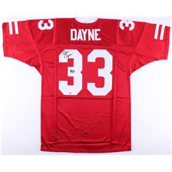 "Ron Dayne Signed Wisconsin Jersey Inscribed ""99 H"" (Radtke COA)"