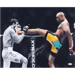 Anderson Silva Signed UFC 16x20 Photo (PSA COA)