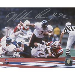 William Perry Signed Bears 8x10 Photo (Schwartz COA)