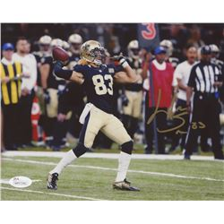 Willie Snead Signed Saints 8x10 Photo (JSA COA)