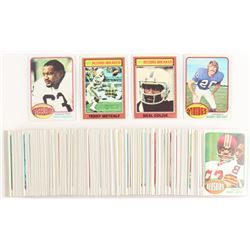 Lot of (175+) 1976 Topps Football Cards with #5 Terry Metcalf, #9 Ernie Holmes, #11 Bobby Bryant