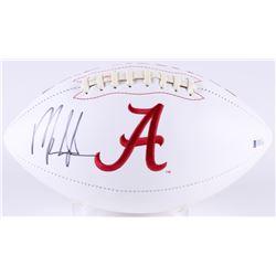 Mark Ingram Signed Alabama Crimson Tide Logo Football (Beckett COA)