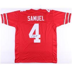 Curtis Samuel Signed Ohio State Buckeyes Jersey (JSA COA)