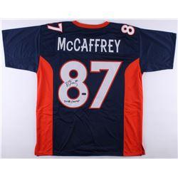 """Ed McCaffrey Signed Broncos Jersey Inscribed """"2x SB Champ"""" (Radtke COA)"""
