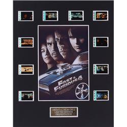 """Fast  Furious 4"" 8x10 Custom Matted Original Film Cell Display"