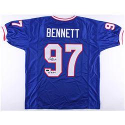 "Cornelius Bennett Signed Bills Jersey Inscribed ""5x's Pro Bowl"" (Radtke COA)"