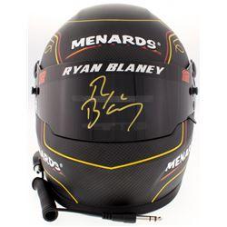 Ryan Blaney Signed NASCAR 2018 Team Penkse / Menards Full-Size Helmet (PA COA)