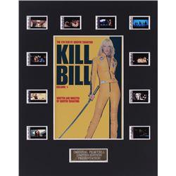 """""""Kill Bill: Volume 1"""" 8x10 Custom Matted Original Film Cell Display"""