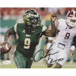 Quinton Flowers Signed South Florida Bulls 8x10 Photo (JSA COA)