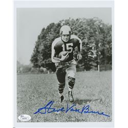 Steve Van Buren Signed Eagles 8x10 Photo (JSA COA)
