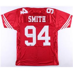Justin Smith Signed 49ers Jersey (AAA COA)