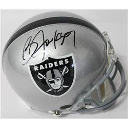 Bo Jackson Signed Raiders Full-Size Authentic On-Field Helmet (Beckett COA)