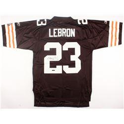 LeBron James Signed Browns Reebok Jersey (UDA Hologram)