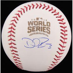 David Ross Signed 2016 World Series Baseball (Schwartz COA)