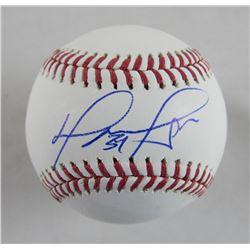 David Ortiz Signed OML Baseball with Multiple Inscriptions (JSA Hologram)