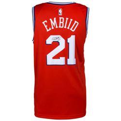 Joel Embiid Signed 76ers Statement Jersey (Fanatics Hologram)