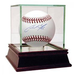 Christian Yelich Signed Baseball (Steiner Hologram)