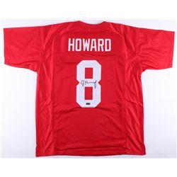Jordan Howard Signed Indiana Hoosiers Jersey (Radtke COA)