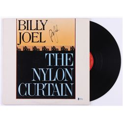 "Billy Joel Signed ""The Nylon Curtain"" Vinyl Record Album (Beckett COA)"