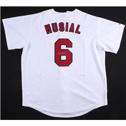 Stan Musial Signed Cardinals Jersey (Stan Musial COA)