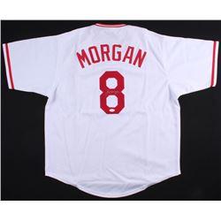 Joe Morgan Signed Reds Jersey (JSA COA)