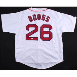 "Wade Boggs Signed Red Sox Jersey Inscribed ""HOF 05"" (JSA COA)"
