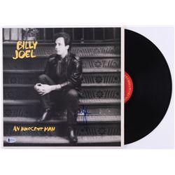 """Billy Joel Signed """"An Innocent Man"""" Vinyl Record Album (Beckett COA)"""