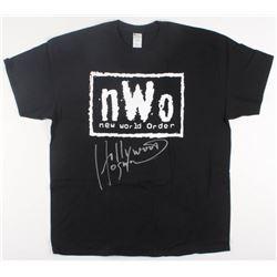"Hulk Hogan Signed ""New World Order"" T-Shirt Inscribed ""Hollywood"" (Tristar Hologram)"